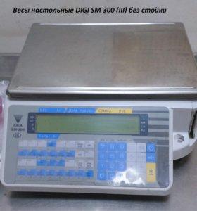 Весы торговые настольные DIGI SM 300