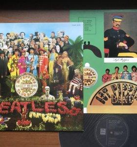 Beatles Japan press
