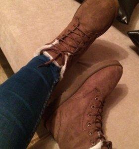 Ботинки зимние !!!новые !!!