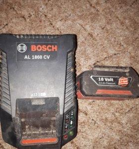 Зарядное устройство и батарея