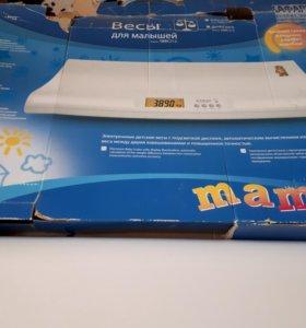 Весы детские электронные Maman SBBC-212