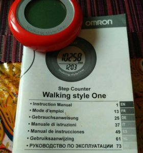 Шагомер OMRON Walking Style One HJ-152-E