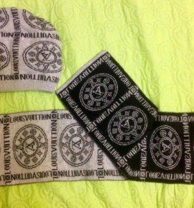 Шапка и шарф(кашемир)