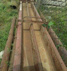 Формы для изготовления битонных столбов