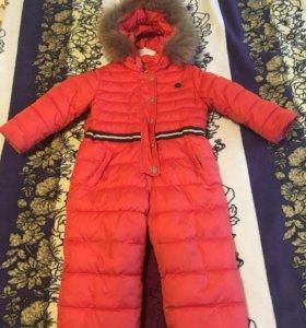 Детский зимний комбинезон Пулка