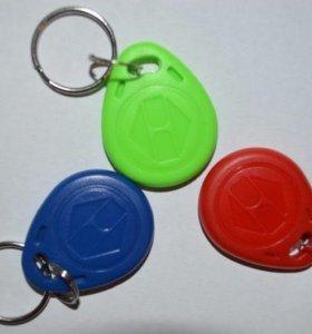 Копирование ключей от домофона (брелки)