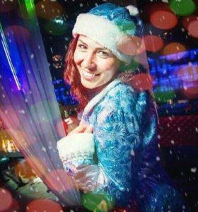 Снегурочка-ведущая на новогодний праздник 🎄