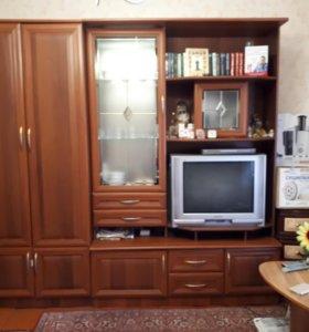 Шкаф и телевизор. Торг