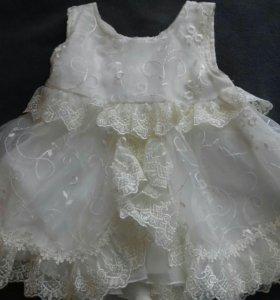 Праздничное платье 62-68