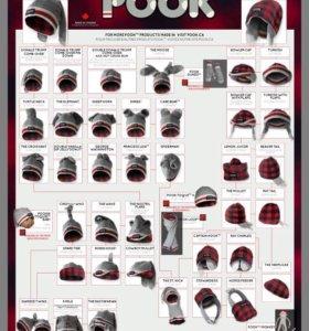Ультрамодная шапка-трансформер