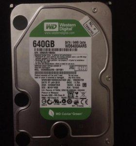 Жёсткий диск Western Digital Caviar Green 640 GB