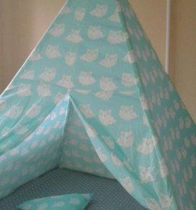 вигвам#палатка#домик#уголок уединения#