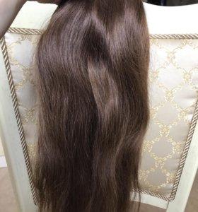 Натуральные волосы легко и быстро крепятся