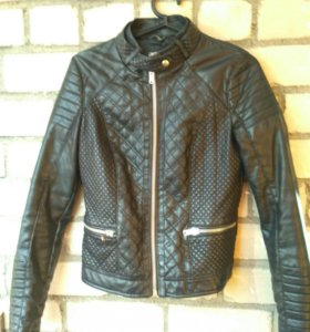 Куртка Bershka (кож.зам)