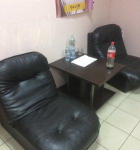 Кресло , стол журнальный