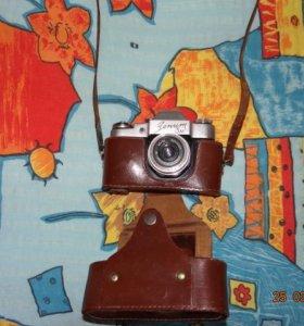 Фотоаппарат -Зенит 3М-объектив Индустар-50