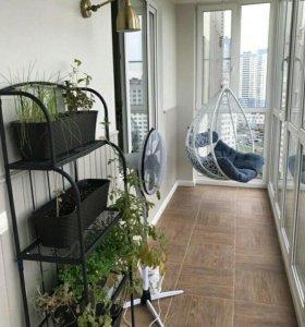 Кресло качели на балкон