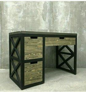Мебель из массива и металла