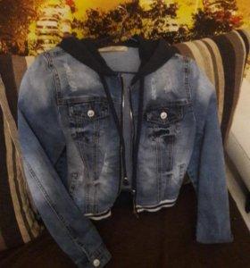 Куртка для девочки 11-13лет