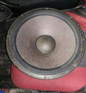 Эстрадный саб 15 дюймовый для авто в корбе