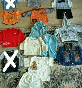 Комплект одежды для мальчика 74-86