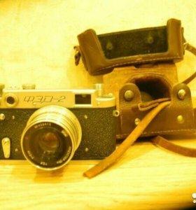 Пленочный фотоаппарат ФЭД 2