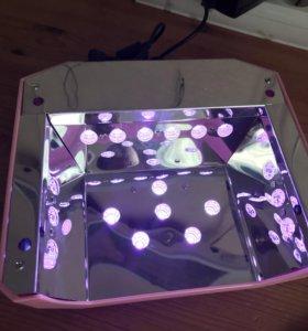 LED лампа для гель лаков