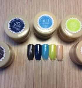 Гель краска новая для ногтей