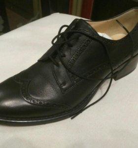 Ботинки женские кожаные Elmonte