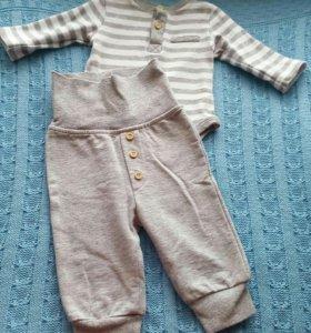 Детская одежда пакетом на 62-68