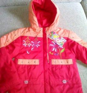 Куртка новая Осень 98 см
