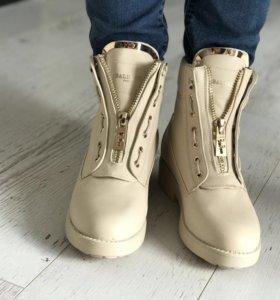 Ботинки Balmain с мехом