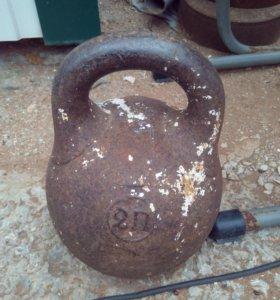 Гиря 2 пуда (32 кг.)