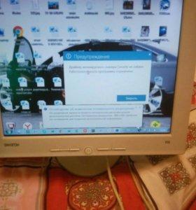 Монитор TFT,15 д.,Samsung, с кабелями, Великобрита