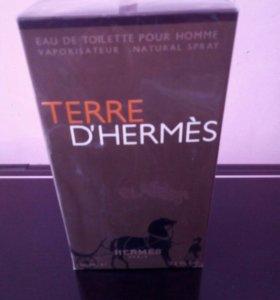 Туалетная вода TERRE D'HERMES