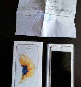 iPhone 6s ,Gold, 64GB