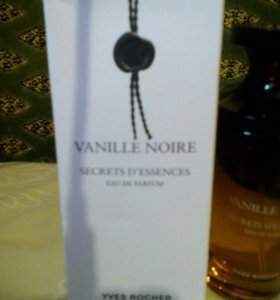 """Парфюмерная вода """" черная ваниль"""" оригинал."""