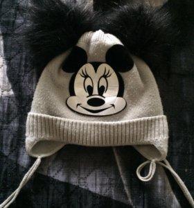 Очень тёплая шапка