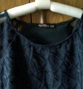Платье ажурное