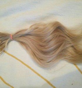 Волосы для капсульного наращивания(натуральные)