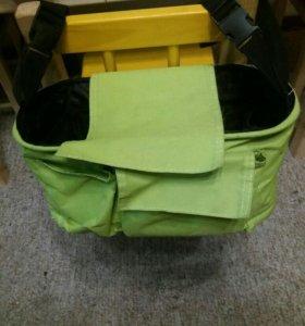 универсальная сумка - органайзер  для коляски
