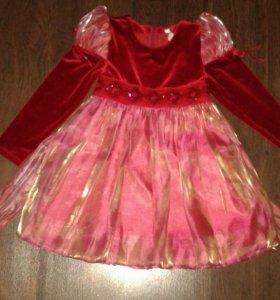 Платья и др. вещи на девочку (3-4 года)
