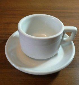 Кофейная чашка и блюдце Вермахта 3 Рейх.