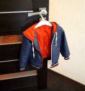 Куртки,на мальчика 2-3 года