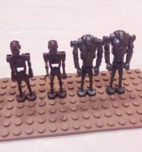 Лего дроиды 19 штук