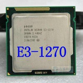 Intel Xeon E3 1270 3.4 ГГц LGA1155 8 МБ 4 ядра