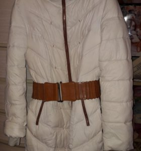 Пуховик пальто женский 46-48размер