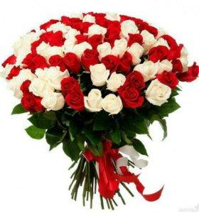 Хризантемы и Розы по Супер-цене