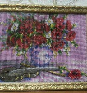 Картины из бисера и алмазная вышивка