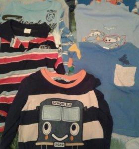 Пакет вещей для мальчика 4-6лет